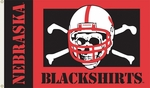 Nebraska (Blackshirts) 3' X 5' Flag with Grommets [95105-FS-BSI]