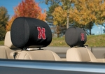 Nebraska Cornhuskers Headrest Covers-Set of 2 [82005-FS-BSI]