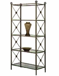 NeoClassic Etagere with Glass Shelves [E36-N-FS-GCM]