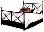 NeoClassic Wrought Iron Bed with Frame - Full [GMC-IB2-FU-FS-GCM]