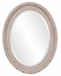 Nero Oval Mirror [56063-FS-HEC]