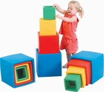 Multicolor Nest N' Stack Blocks Set [CF910-012-FS-CHF]