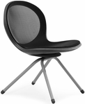 Net 4-Legged Chair - Black [N202-BLACK-MFO]