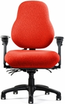 High Performance High Back Large Seat Minimal Contour Chair [NPS8800-FS-NEU]