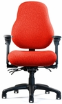 High Performance High Back Medium Seat Minimal Contour Chair [NPS8500-FS-NEU]