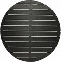 Nevada Table Top 28'' Round in Black