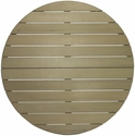Nevada Table Top 36'' Round in Gray