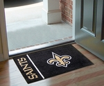 New Orleans Saints - Uniform Inspired Starter Rug,19'' x 30'' [8252-FS-FAN]