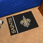 New Orleans Saints - Uniform Inspired Starter Mat 19'' x 30'' [8252-FS-FAN]