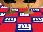New York Giants Carpet Team Tiles - 18'' x 18'' Tiles - Set of 20 [8543-FS-FAN]