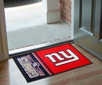 New York Giants - Uniform Inspired Starter Rug,19'' x 30'' [8243-FS-FAN]
