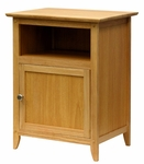 Night Stand with Cabinet in Natural [82115-FS-WWT]