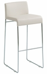 Nina Counter Stool in White [HGBO128-FS-NVO]