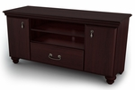 Noble Collection TV Stand / Storage Unit Dark Mahogany [4316662-FS-SS]