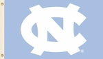 North Carolina Tar Heels 3' X 5' Flag with Grommets - Logo Design [95208-FS-BSI]