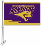 Northern Iowa Car Flag with Wall Brackett [97064-FS-BSI]
