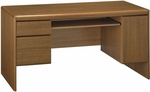 Northfield Wooden 61.6''W X 30.8''H Computer Credenza with Pull Out Keyboard Tray - Oak [EX17512K-FS-BHF]