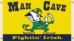 Notre Dame Fighting Irish Man Cave 3' X 5' Flag with 4 Grommets [95636-FS-BSI]