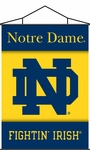 Notre Dame Indoor Banner Scroll [87036-FS-BSI]