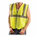 Occunomix Class II Safety Vest - L/XL [OCCECOGYLXL-FS-SP]