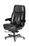 Odyssey High Back Luxury Office Chair - Leather [OF-ODYS1PC-L-FS-ARE]