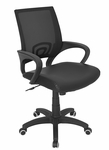 Officer Office Chair Black [OFC-OFFCR-BK-FS-LUMI]