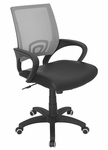Officer Office Chair Silver [OFC-OFFCR-SV-FS-LUMI]