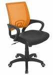 Officer Office Chair Tangerine [OFC-OFFCR-TNG-FS-LUMI]