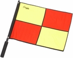 Official Red and Yellow Checkered Flag with Black Border [LFPRO-FS-CHS]