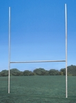3.5'' Galvanized H-Style Official Rugby Goal - Set of 2 [FBRUGBY-BIS]