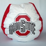 Ohio State Buckeyes Bean Bag Chair [BB-40-OHIO-FS-BBB]