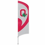 Ohio State Buckeyes Tall Team Flag w/ Pole [TTOSU-FS-PAI]