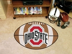 Ohio State University Football Rug [1521-FS-FAN]
