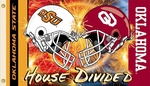 Oklahoma - Ok St. 3' X 5' Flag with Grommets - Helmet House Divided [95919-FS-BSI]