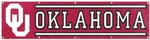 Oklahoma Sooners Giant 8' x 2' Banner [BOK-FS-PAI]