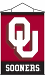 Oklahoma Sooners Indoor Banner Scroll [87019-FS-BSI]