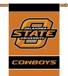 Oklahoma State Cowboys 2-Sided 28'' X 40'' Banner with Pole Sleeve [96147-FS-BSI]