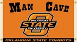 Oklahoma State Cowboys Man Cave 3' X 5' Flag with 4 Grommets [95647-FS-BSI]
