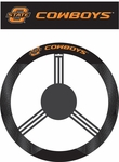 Oklahoma State Cowboys Poly-Suede Steering Wheel Cover [58552-FS-BSI]