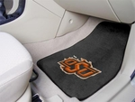 Oklahoma State University 2-piece Carpeted Car Mats 18'' x 27'' [5999-FS-FAN]