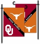Oklahoma - Texas 2-Sided Garden Flag - Rivalry House Divided [83934-FS-BSI]