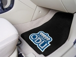 Old Dominion University 2-piece Carpeted Car Mats 18'' x 27'' [6860-FS-FAN]