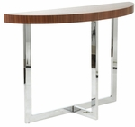 Oliver Console Table in Walnut [28043A-28043B-FS-ERS]