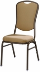 Omega I Banquet Stack Chair with Curved Rectangular Back [584-MTS]