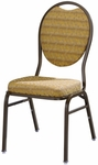 Omega I Banquet Stack Chair with Teardrop Back [569-MTS]