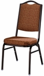 Omega II Rectangular Back Banquet Stack Chair [593-MTS]