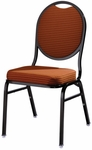 Omega II Round Back Banquet Stack Chair [590-MTS]