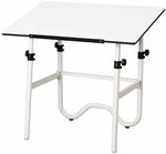 Onyx Metal Drawing Table - 42''W X 28''D [ONX40-4-FS-ALV]