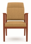 Amherst Series Open Arm Motion Guest Chair with Extended Back [K1801G5-FS-RO]