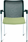 Open End Large Mesh Back Side Chair [OE12030-FS-DV]